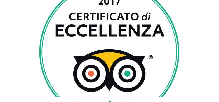 Eccellenza Tripadvisor 2017