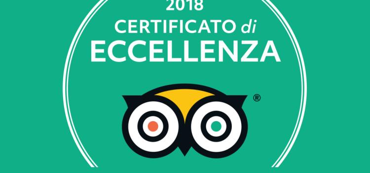 Eccellenza TRIPADVISOR 2018